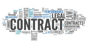 перевод контракта на английский, французский, немецкий, пример