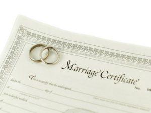 Перевод свидетельства о браке